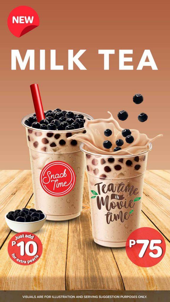 Snack Time Milk Tea