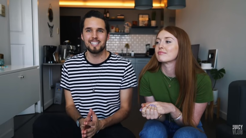 George and Lucy of the Juicy Vlog