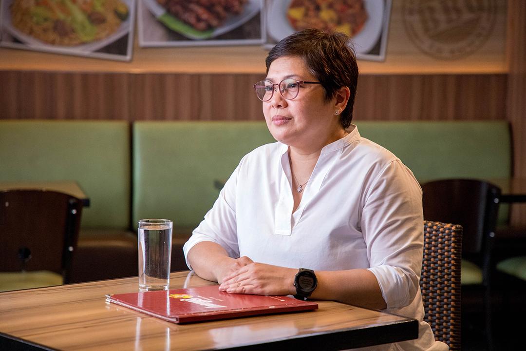 Restaurateur Michelle Ineng Santiago