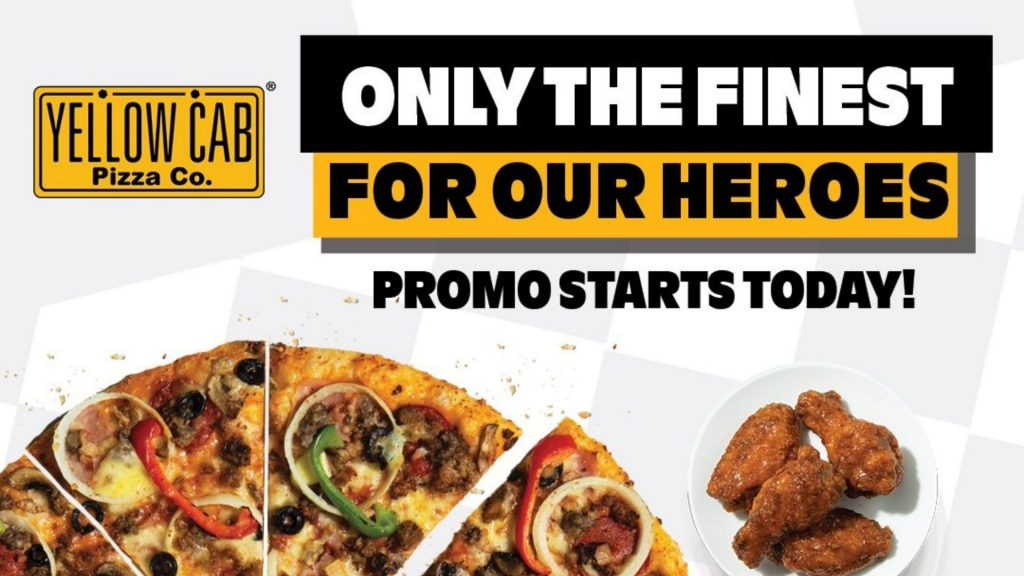 Check Out Yellow Cab's Only The Finest For Our Heroes Promo