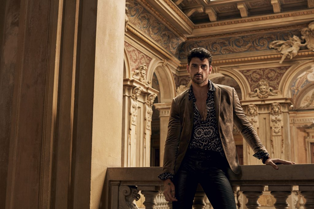 International Actor Michele Morrone Is The New Face Of GUESS Men's