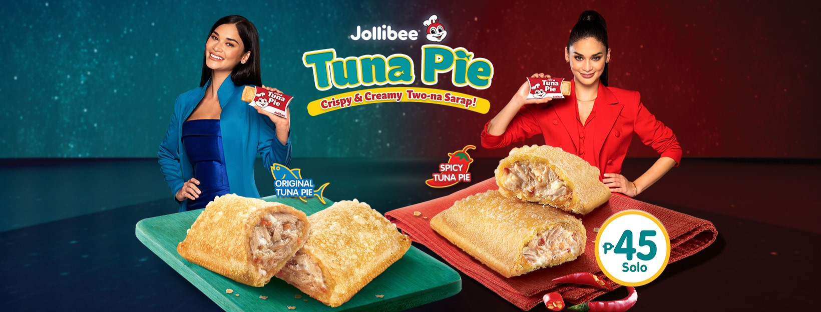 Your Favorite Jollibee Two-Na Sarap Tuna Pie Is Back