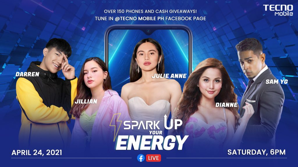 Spark Up Your Energy And Win A Spark 6 Air From TECNO Mobile