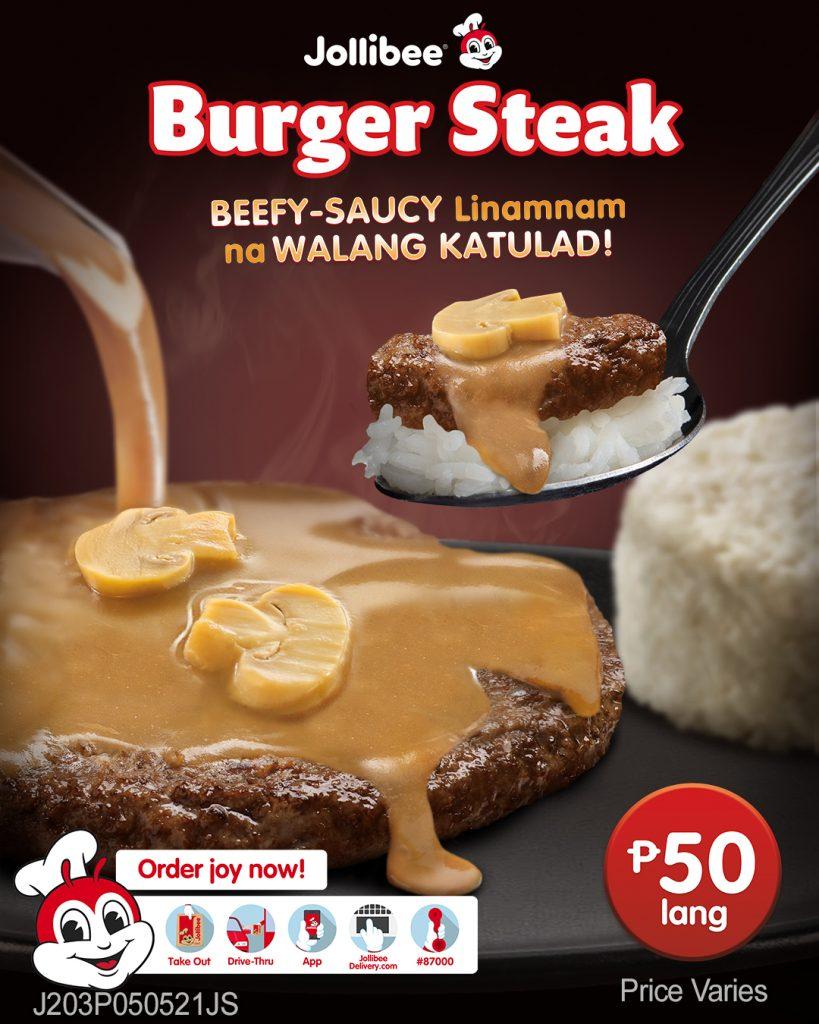 Jollibee Burger Steak poster