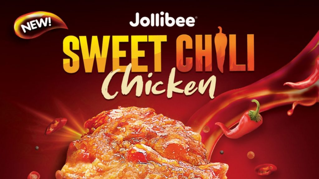 Jollibee Introduces The New Sweet Chili Chicken