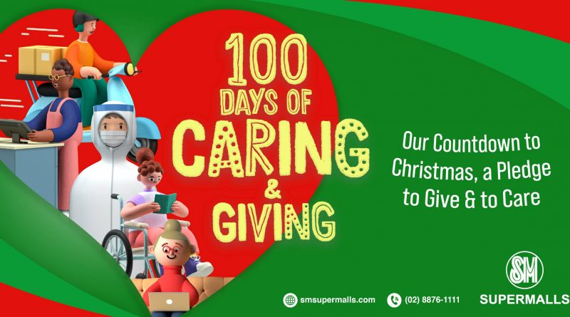 100 Days of Caring & Giving