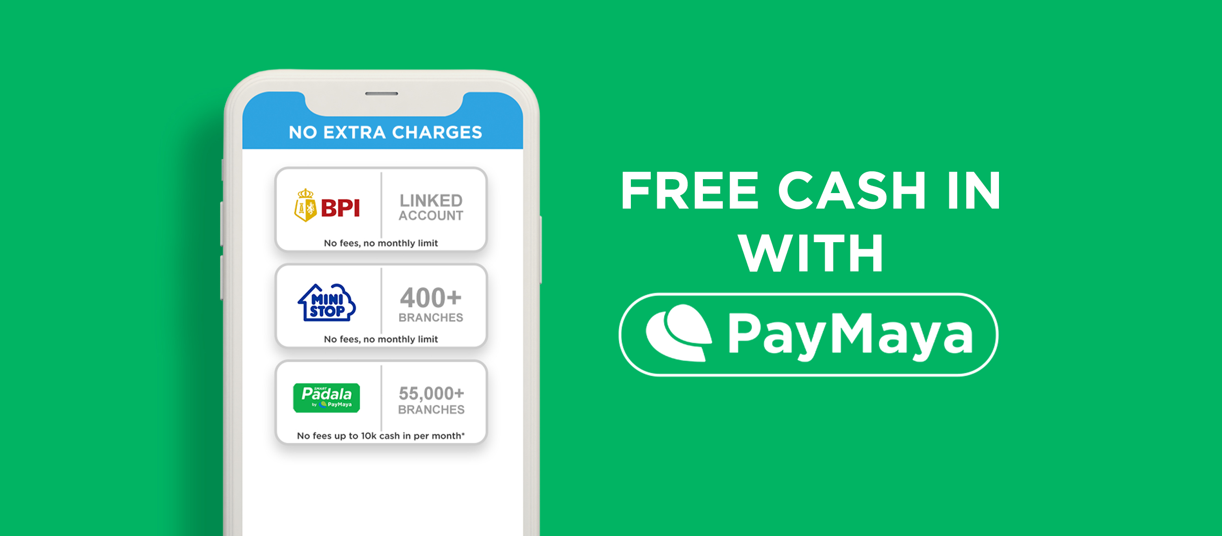 Cash in with PayMaya